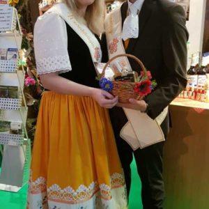 Kornkönigspaar Natalie und Franz
